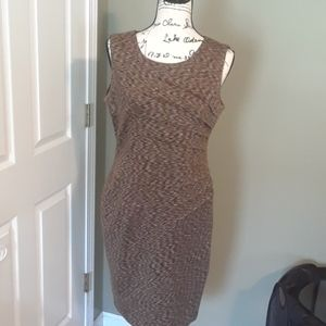Brown Calvin Klein dress